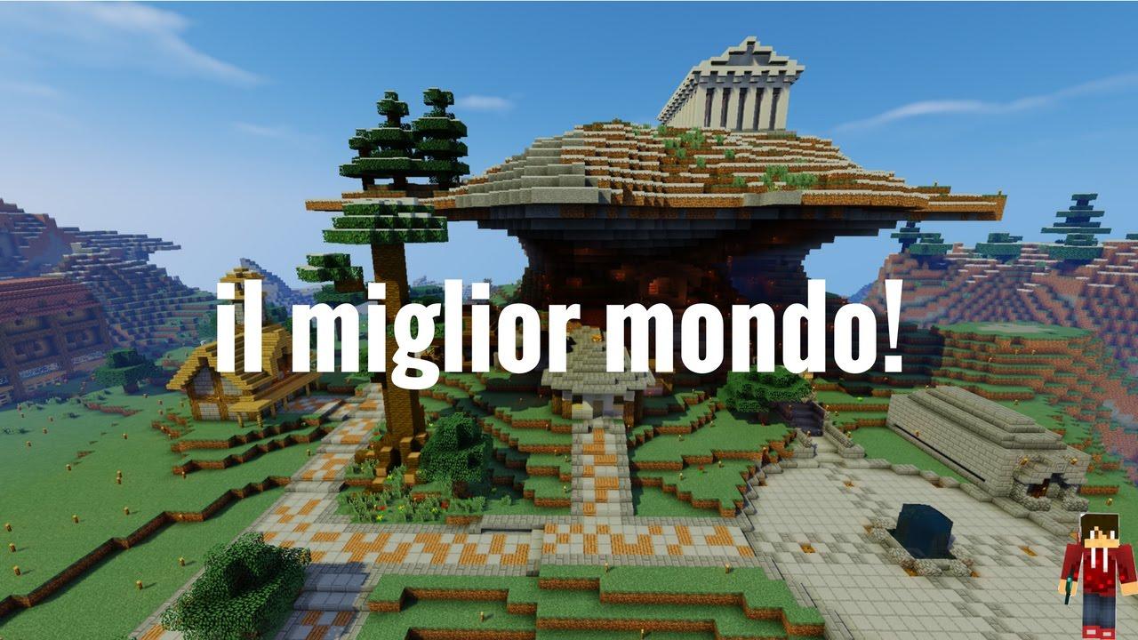 Il Miglior Mondo Mai Creato In Minecraft  Download-9740
