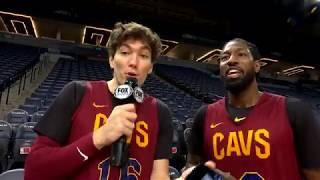 Cedi Osman presents proof of dunking on Cavs teammate John Holland