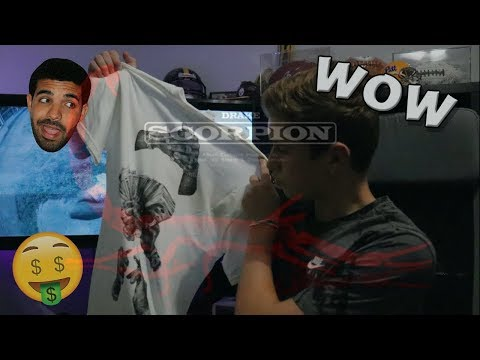 I BOUGHT DRAKE'S MERCH!!! (Unboxing & Try On)