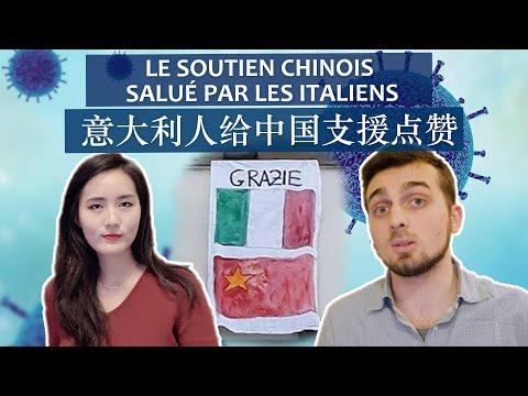 Le soutien chinois salué par les Italiens