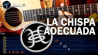 """Cómo tocar """"La Chispa Adecuada"""" de Héroes Del Silencio Versión Original (HD) Tutorial - Christianvib"""