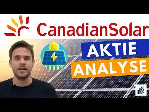 Canadian Solar Aktie: China IPO, Energie Storage und Beschleunigtes Wachstum bei fairer Bewertung
