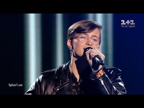 "Arseniy Zhuravel – ""Take On Me"" – Blind Audition – The Voice of Ukraine – season 9"