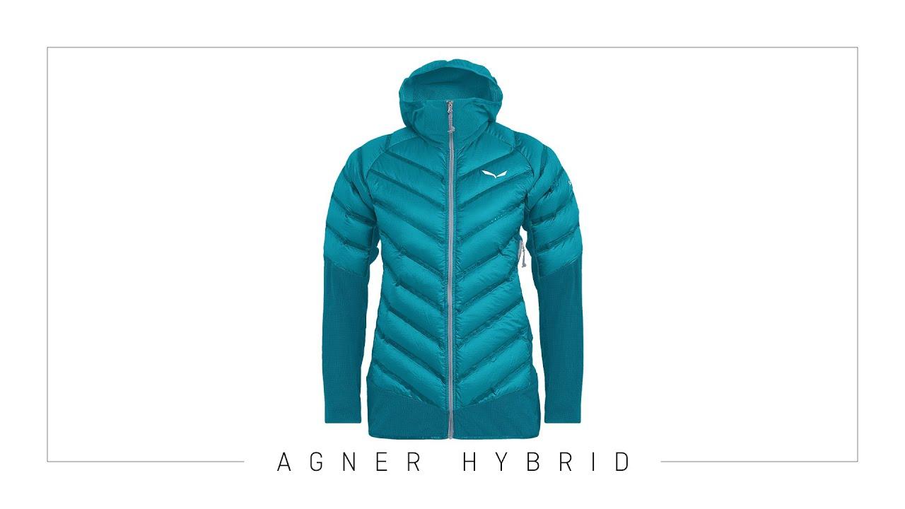 Herren Agner Hybrid Down Jacke ombre blue S