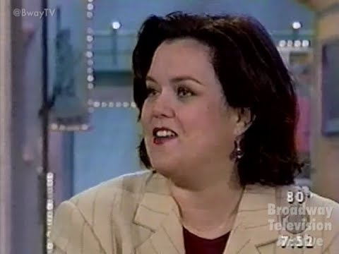 Rosie O'Donnell talks Broadway (pt 1) on CBS This Morning with Mark McEwen (04-June-1998)