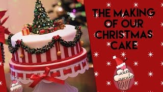 Christmas cake tutorial | O Christmas Tree