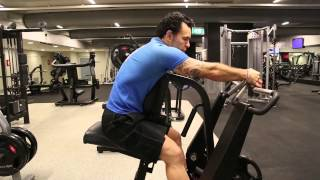 Back - Plate Loaded Seated Row Variation