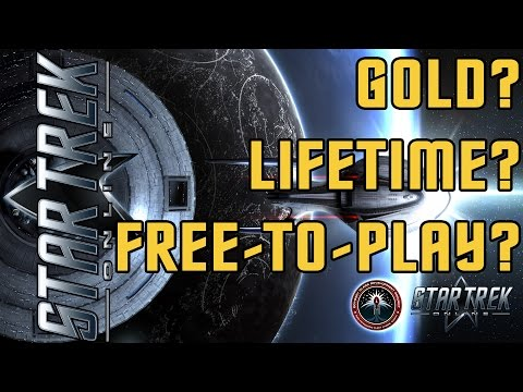 Star Trek Online - Should you Gold? or Lifetime? or Free To Play? - Account