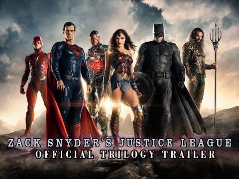 Zack Snyder's Justice League – Official Trilogy Trailer (2021) Henry Cavill, Ben Affleck, Gal Gadot