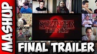 Stranger Things Season 2 Final Trailer Reaction Mashup #2