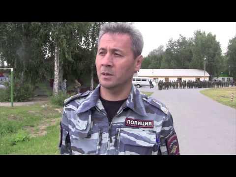 """В центре """"Аванпост"""" прошли показательные выступления сотрудников УМВД"""
