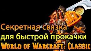 Быстрая прокачка | Секретная связка World of Warcraft: Classic