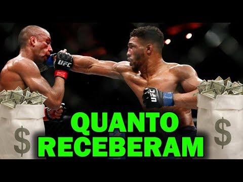 SALÁRIOS UFC BARBOZA VS LEE (UFC ATLANTIC CITY)