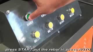 Operation Video of HDCJ 32S upsetting machine