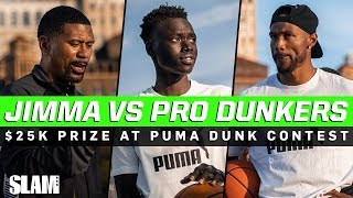 Jimma Gatwech vs. Pro Dunkers for $25K Grand Prize at PUMA Dunk Contest!