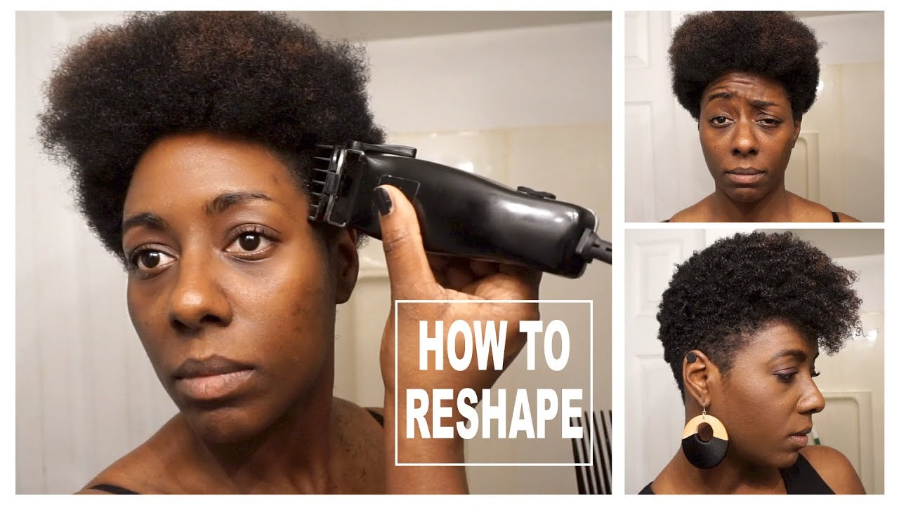 tutorial| how to reshape your tapered cut | natural hair | beautycutright