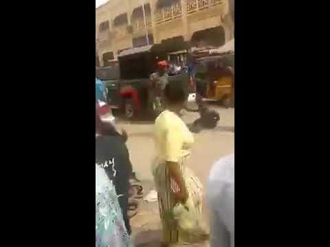Demilitarize Africa-Nigerian Soldiers abuse a disabled person