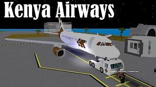 ROBLOX | Kenya Airways A319 Flight