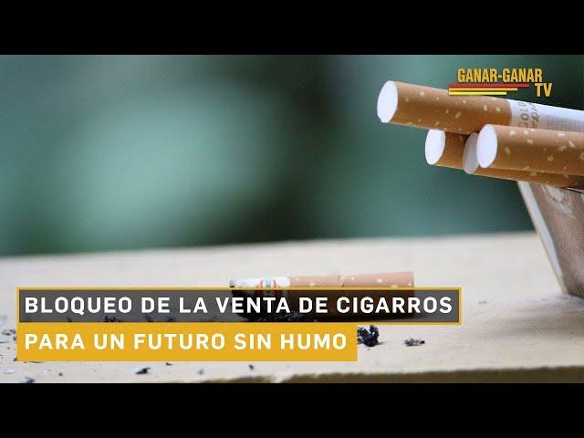 Bloqueo de la venta de cigarros para un futuro sin humo