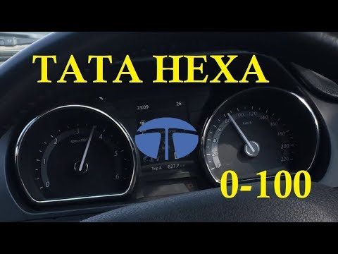 Tata HEXA 0-100 Acceleration test | 2.2 Varicor 400 | Exterior Interior