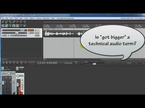 Reaper Audio Recording Demo - Pt 1