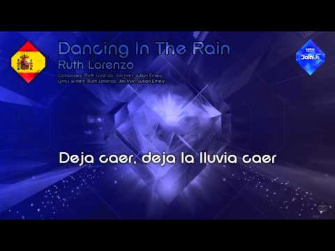 "Ruth Lorenzo - ""Dancing In The Rain"" (Spain) - [Karaoke version]"