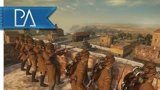 Battle of Gallipoli: Layered Ottoman Defense - The Great War Mod Gameplay