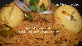 Quick and Easy Egg biryani recipe in Pressure cooker/Egg Biryani in Kannada/Egg Pulao recipe