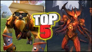 TOP 5 Dota 2 Unofficial Mods (Sets)! #5