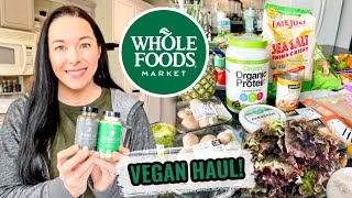 Whole Foods Haul!   Vegan & Prices Shown!   January 2021