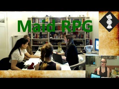 Pen & Paper [Maid RPG] | [One Shot] Maid Unsinn im Weltall [deutsch/german]