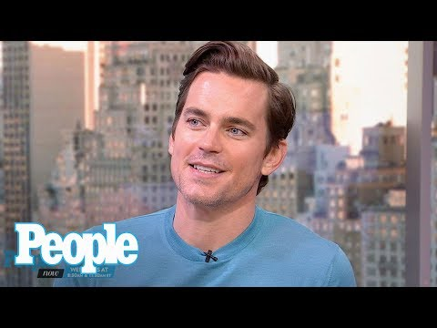 Matt Bomer On Explaining 'Magic Mike', His Hollywood Career To His Three Sons | People NOW | People