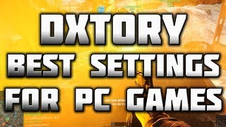 Dxtory Best Settings - Best PC Game Recorder - Good Quality, Small File Size