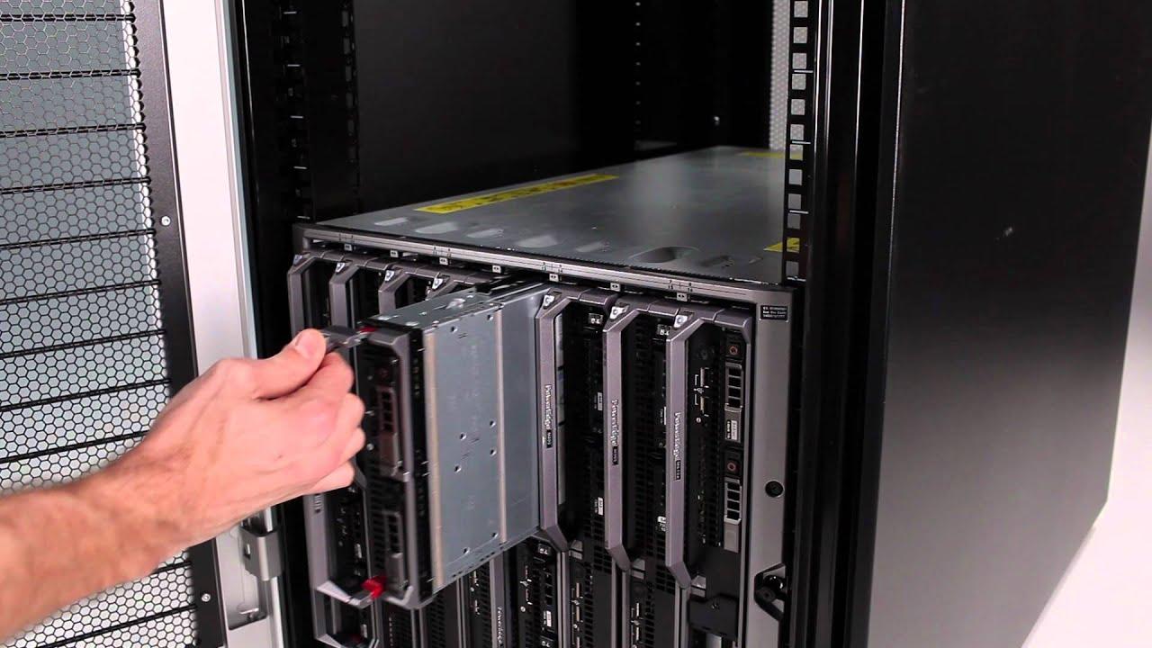 PowerEdge M620: Installation in M1000e