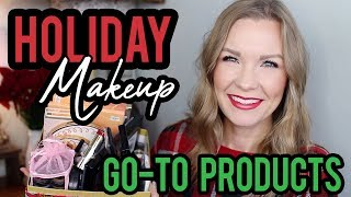 Holiday Makeup - Go To Products! | LipglossLeslie