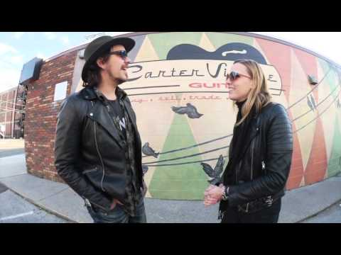 HALESTORM: A tour of Nashville & fan asked interview