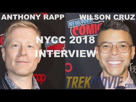 Anthony Rapp and Wilson Cruz Talk 'Star Trek: Discovery' Season 2 At NYCC 2018 Press Roundtable
