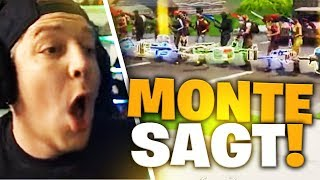 Monte sagt ... | Fortnite | SpontanaBlack
