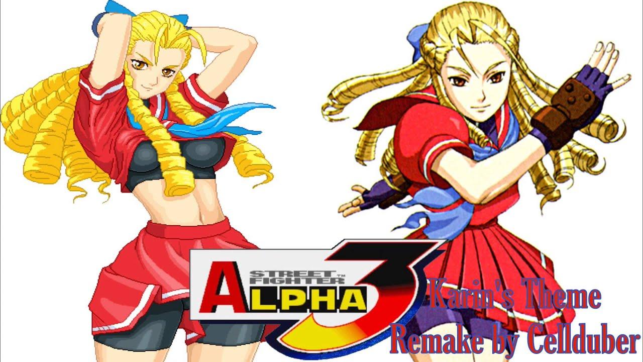 street fighter alpha 3 karin ending relationship