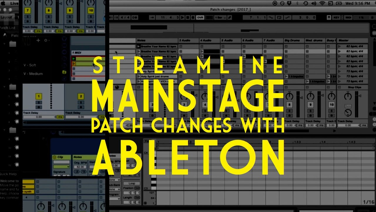 Worship Ableton Patches