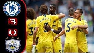 أهداف مباراة تشيلسي وهدرسفيلد 3-0 _ الدوري الانجليزي _