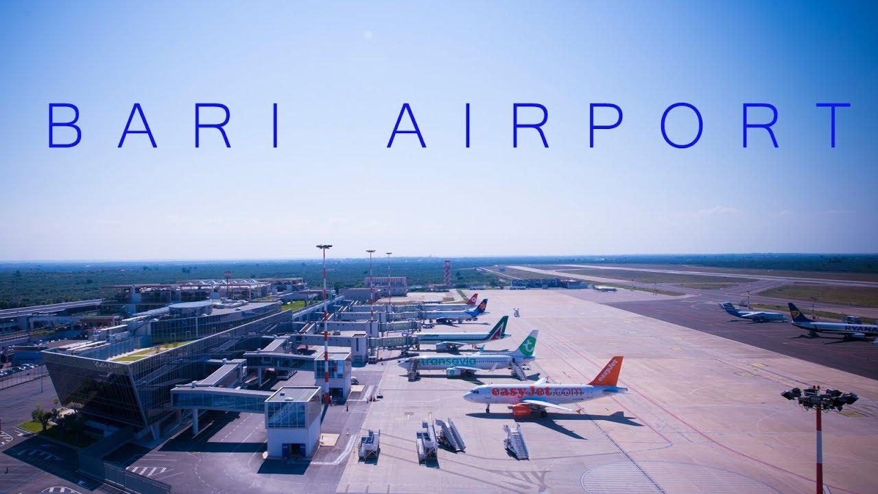 Landing at Bari Karol Wojtyla International Airport ...