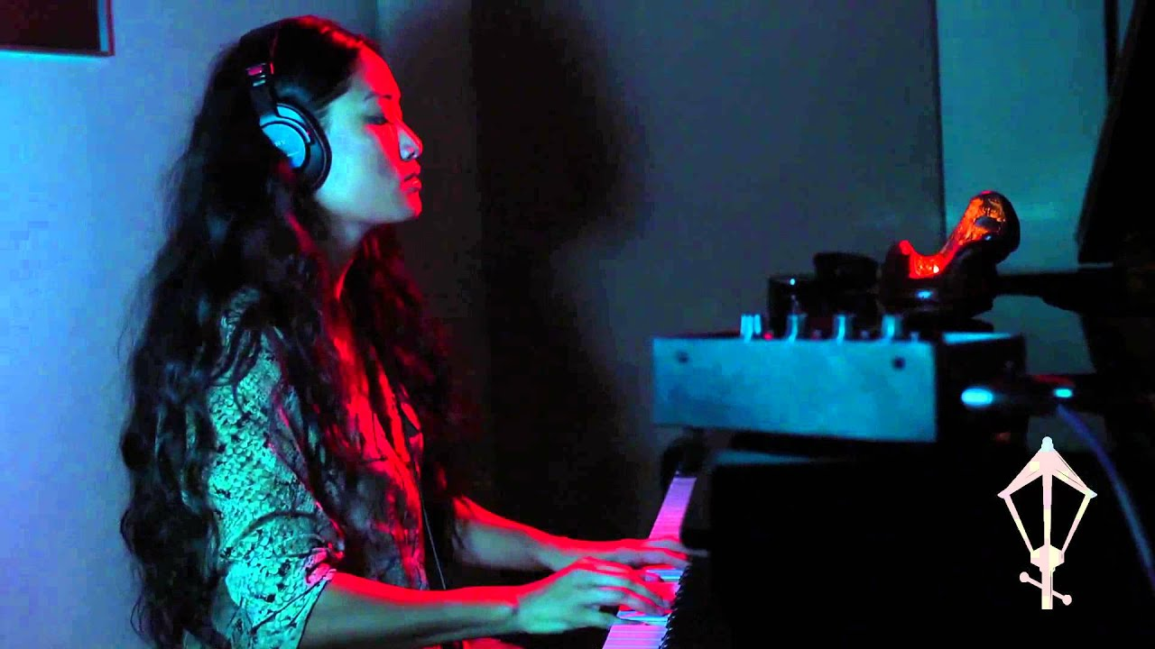 """Chloe Flower performs """"Revolution"""" a Lamp Project exhibit"""