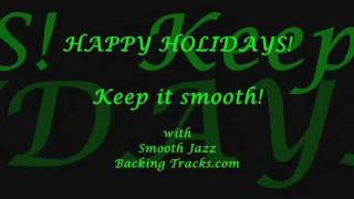 """Silver Bells"" by Kenny G - Sax backing track - Smoothjazzbackingtracks.com"