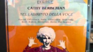 Cathy Berberian     Stripsody for solo voice