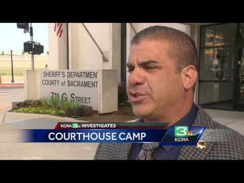 Why Sacramento County courthouse is a haven for homeless