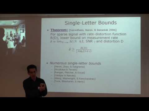 Compressed Sensing Meets Information Theory