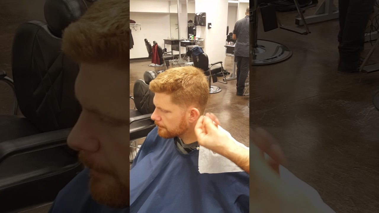 Mens Regular Haircut State Board Youtube