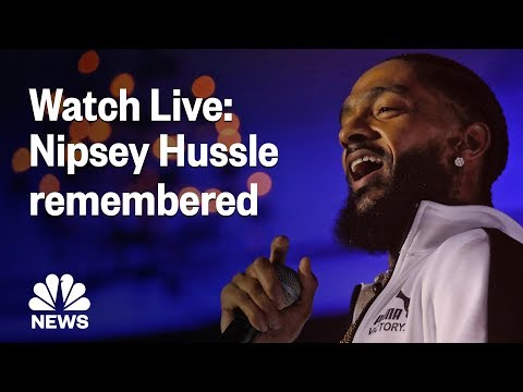 Nipsey Hussle Honored In Funeral Service At Staples Center | NBC News Mp3