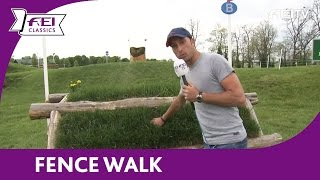 Fence Walk - Tim Price – FEI Classics™ 2015/16 – Kentucky Three Day Event